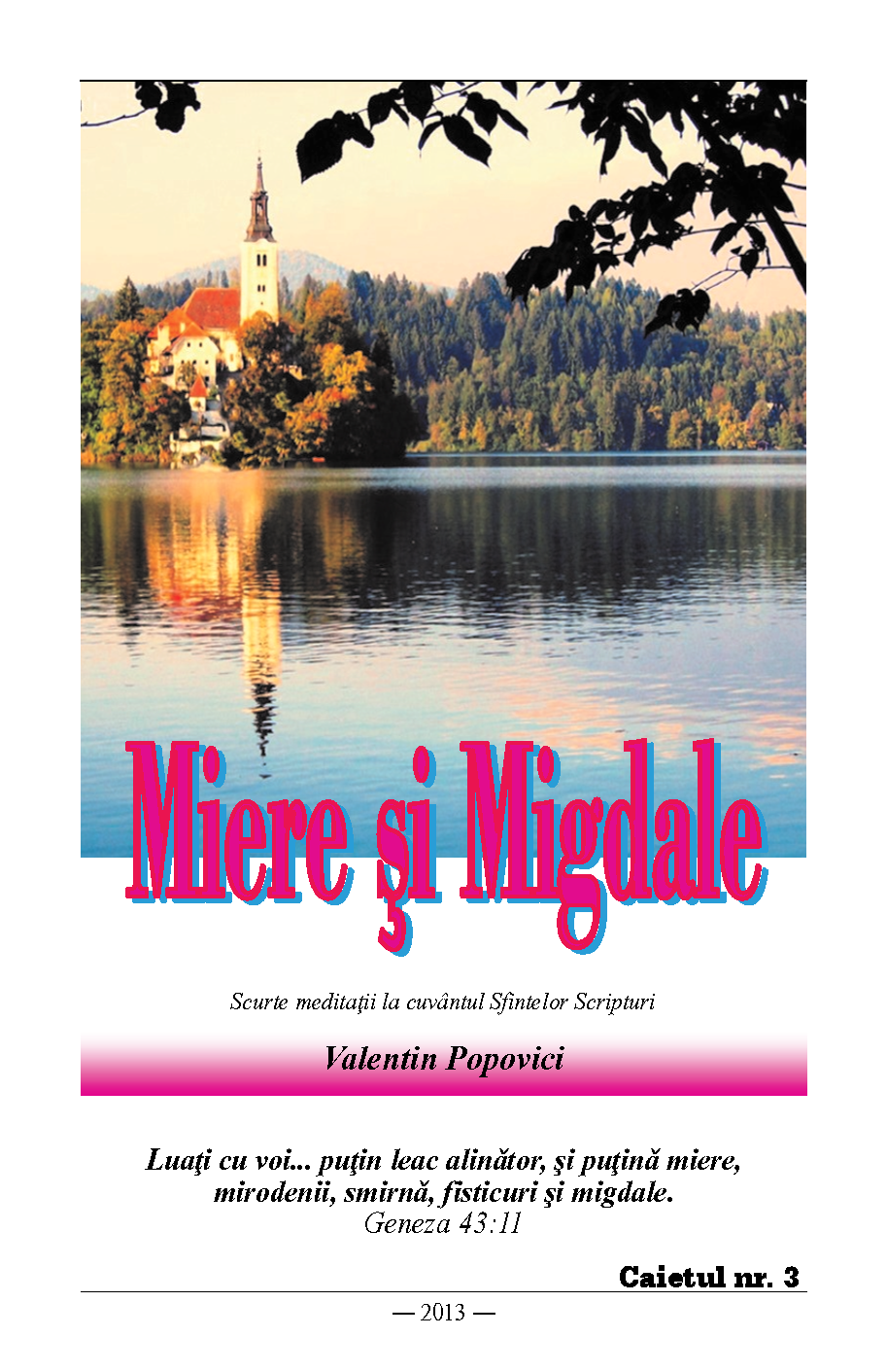 Miere si Migdale v3 front cover image
